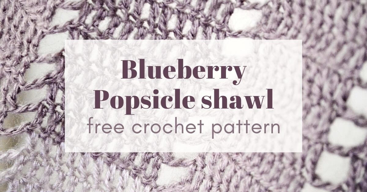 blueberry popsicle shawl Cover photo 2