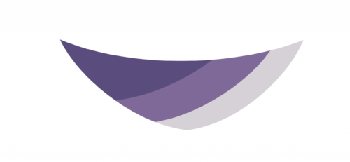 Blueberry popsicle shawl shape