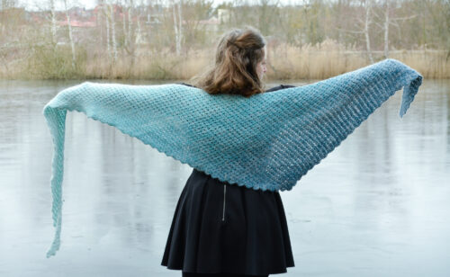 tomis wave shawl pattern 2