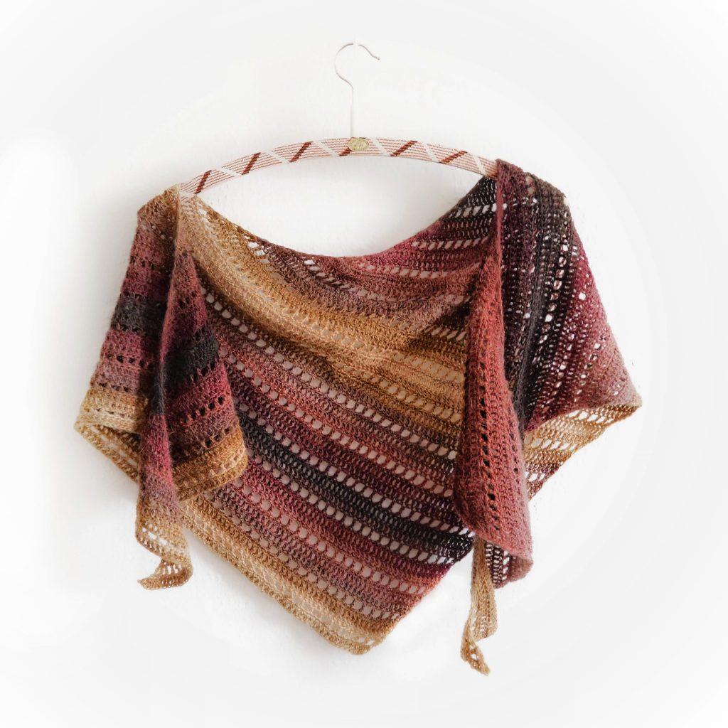 Kizilkaya shawl on a hanger