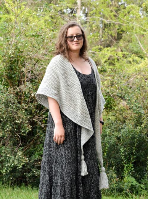 Phyllite - free Tunisian crochet pattern