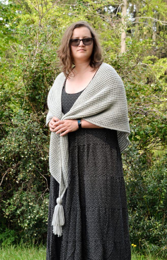 tunisian simple shawl 9