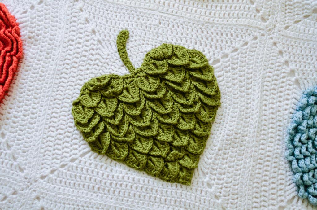 crocodile leaf pattern 7