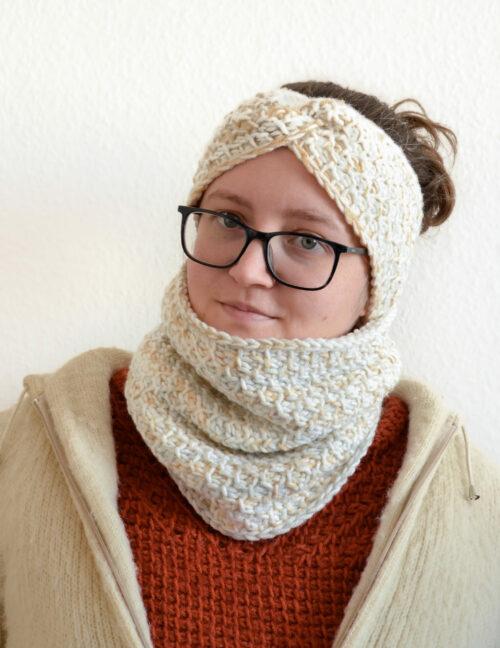 Honeycomb cowl and headband 4 scaled