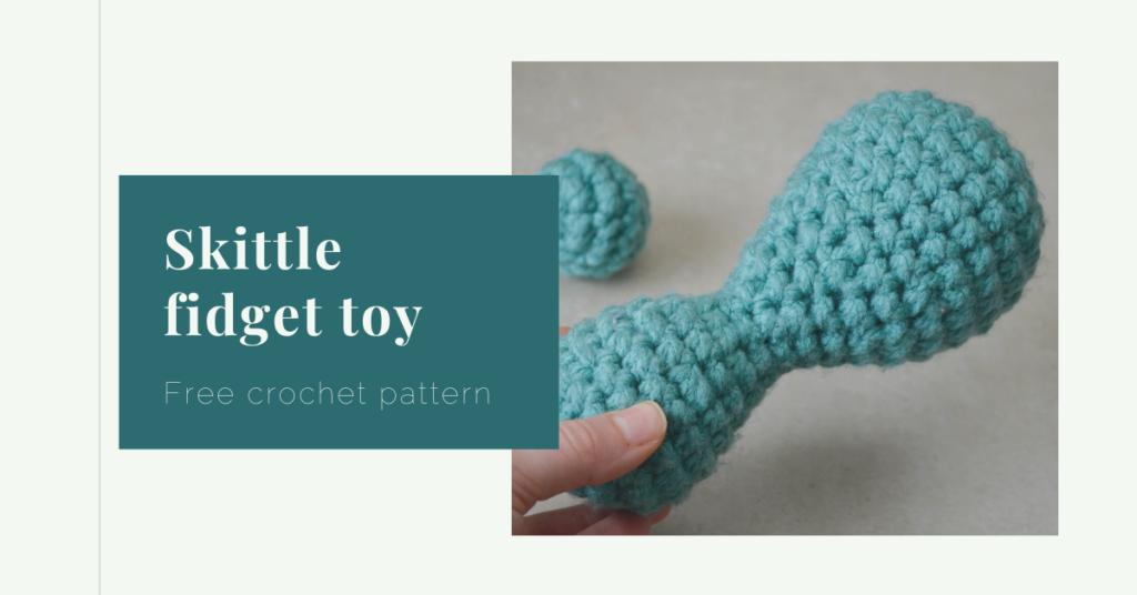 skittle fidget toy crochet pattern free yarnandy