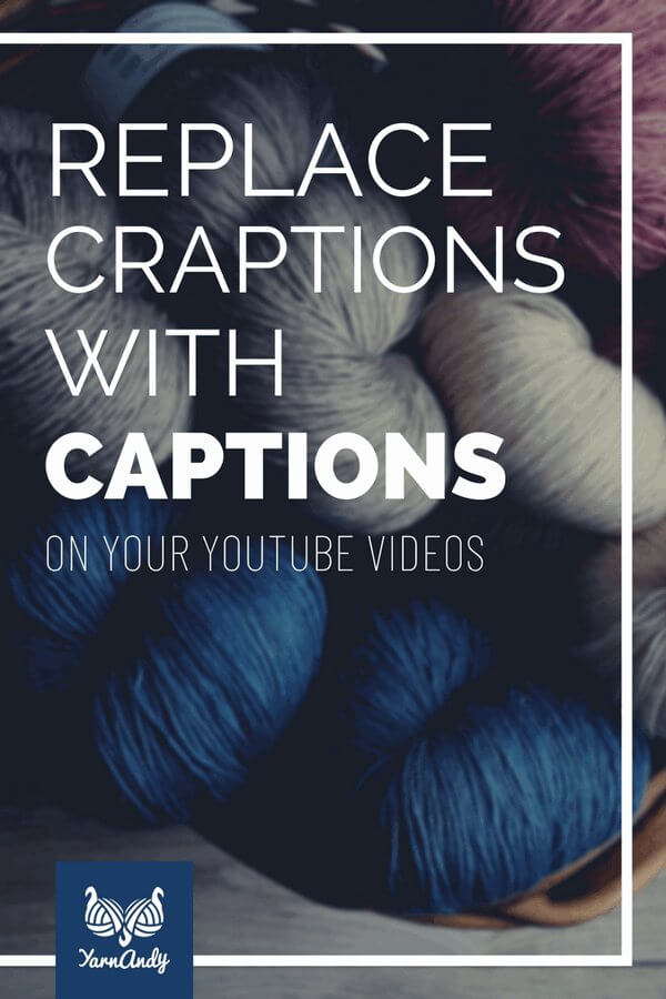 replace craptions