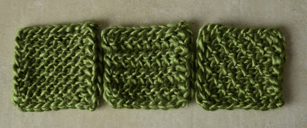 Reduce or remove Tunisian crochet curling by using one of these three non-curling stitch patterns
