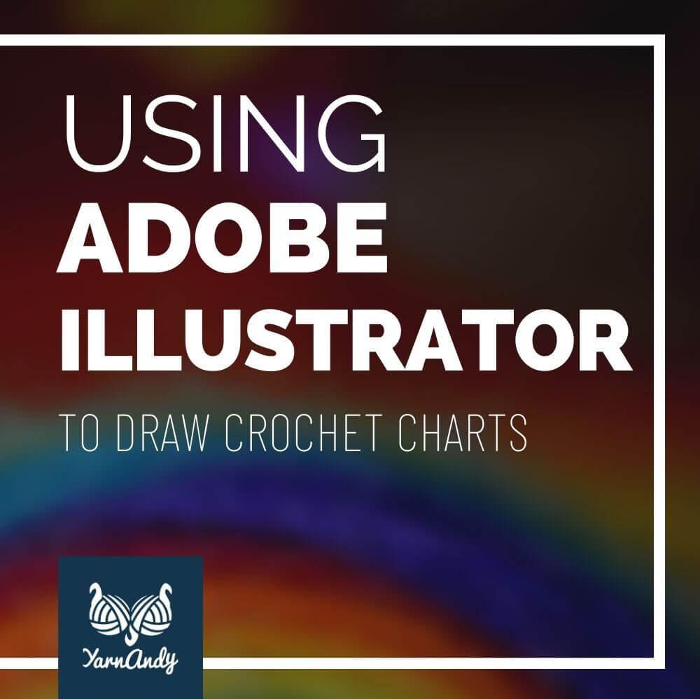 adobe illustrator for crohet charts pinteres