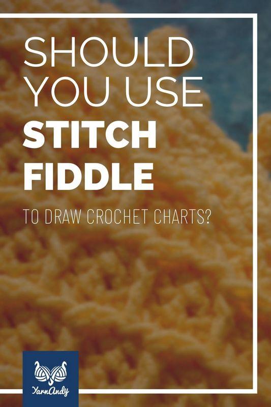 Using Stitch Fiddle to draw crochet charts 2