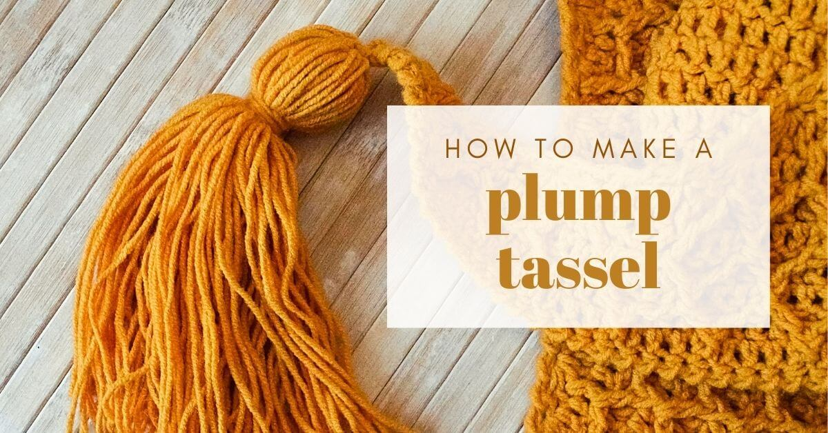 how to make a plump tassel cover