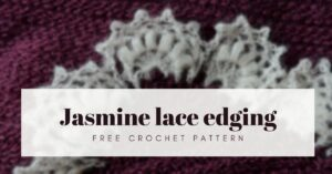 jasmine lace edging cover