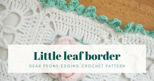 Little leaf border pattern cover