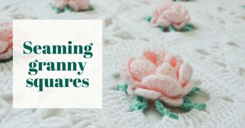 Easy way to join granny squares