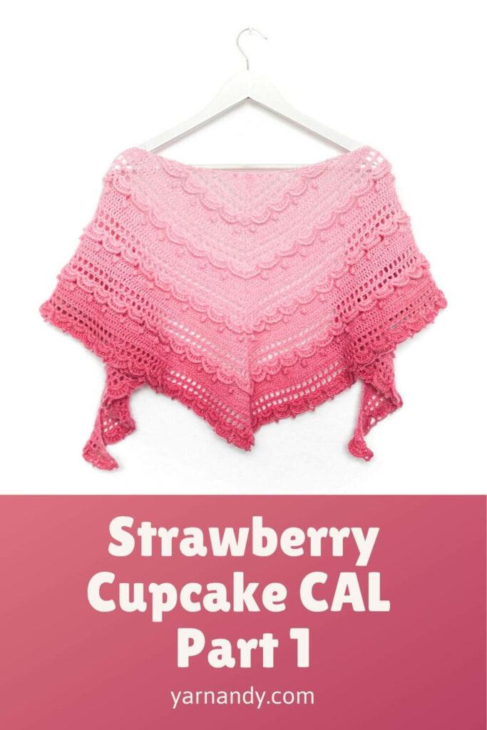 Strawberry cupcake CAL part 1Pinterest