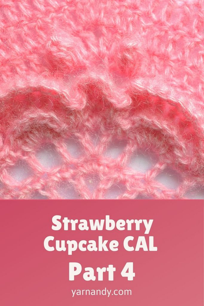 Strawberry cupcake CAL Pinterest part 4