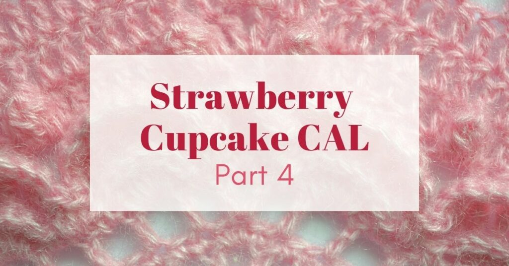 Strawberry cupcake CAL Cover photo part 4