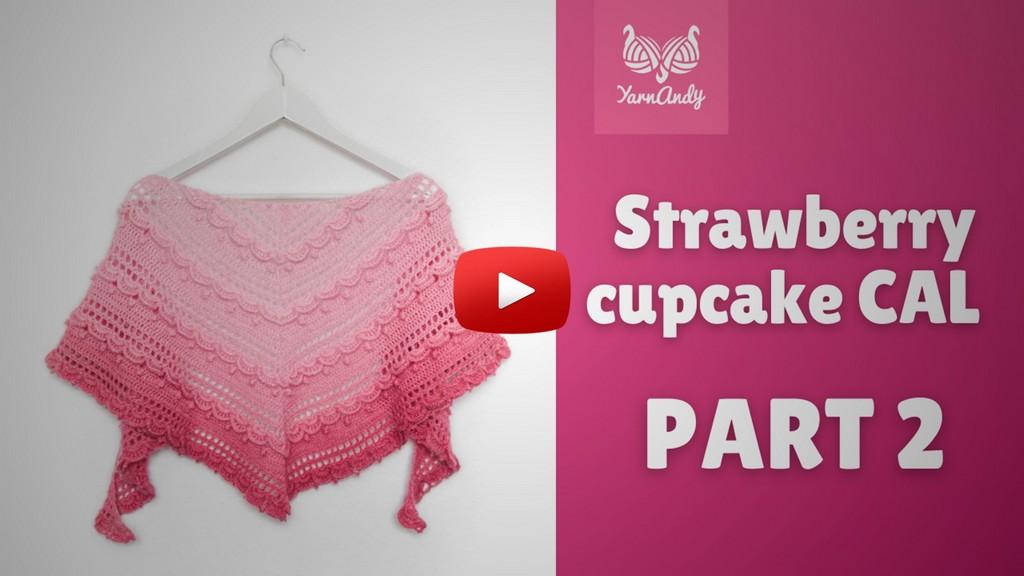 Strawberry cupcake CAL part 2 thumbnail s