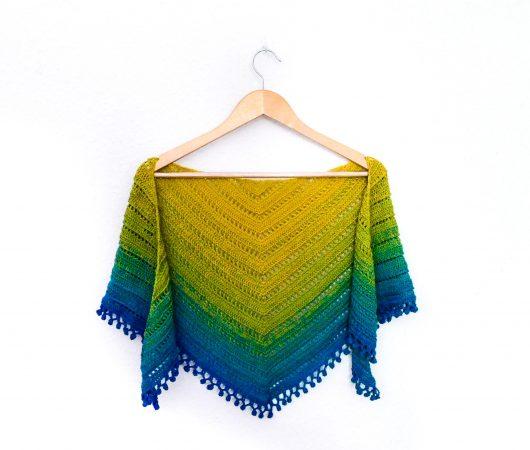 Gooseberry marmalade shawl